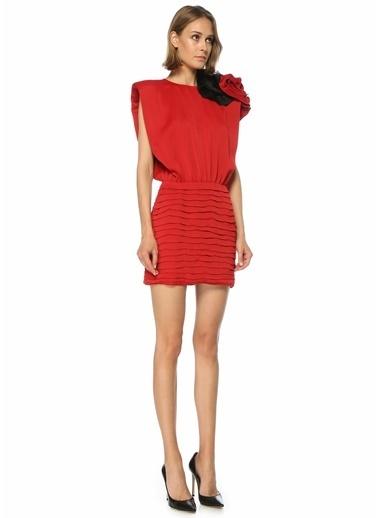 Magda Butrym Elbise Kırmızı